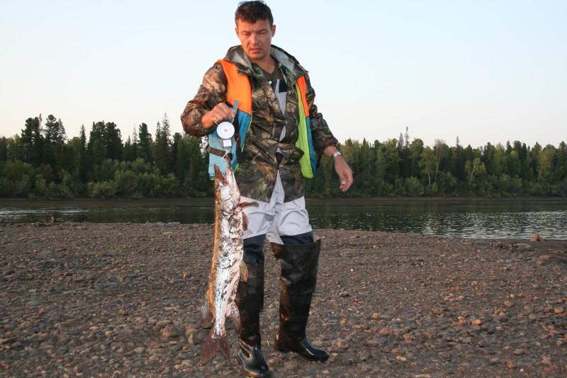 рыбалка на малой оби: